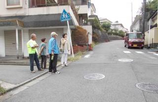 役に立たない横断歩道